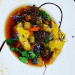bouillon-thai-raviole-langoustines-et morille
