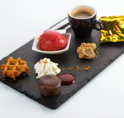 Café Gourmand de 18h00 à 20h00 - Un arôme 2 chefs
